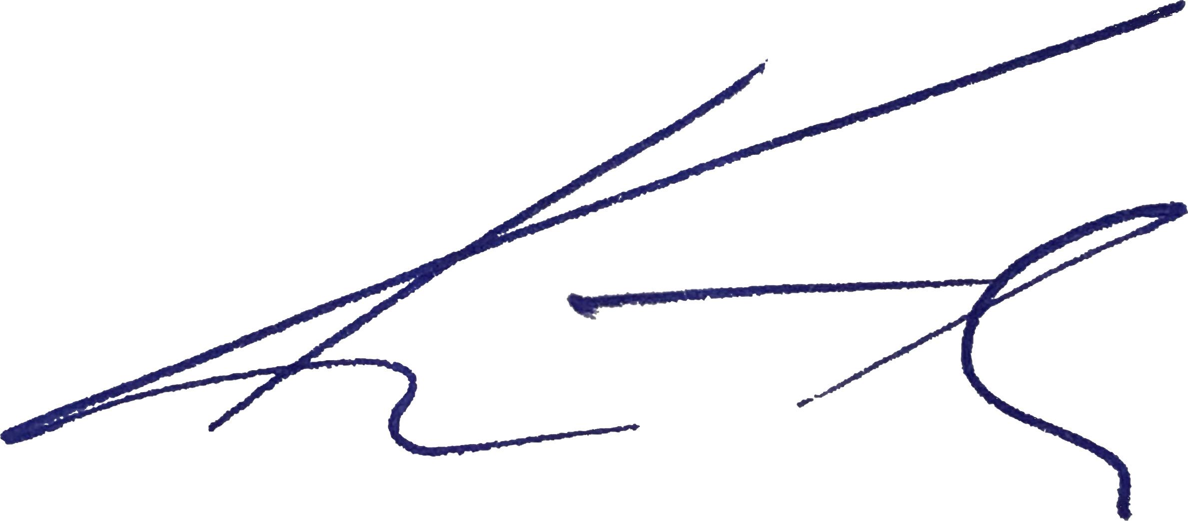 Unterschrift Marlux Geschäftsführer